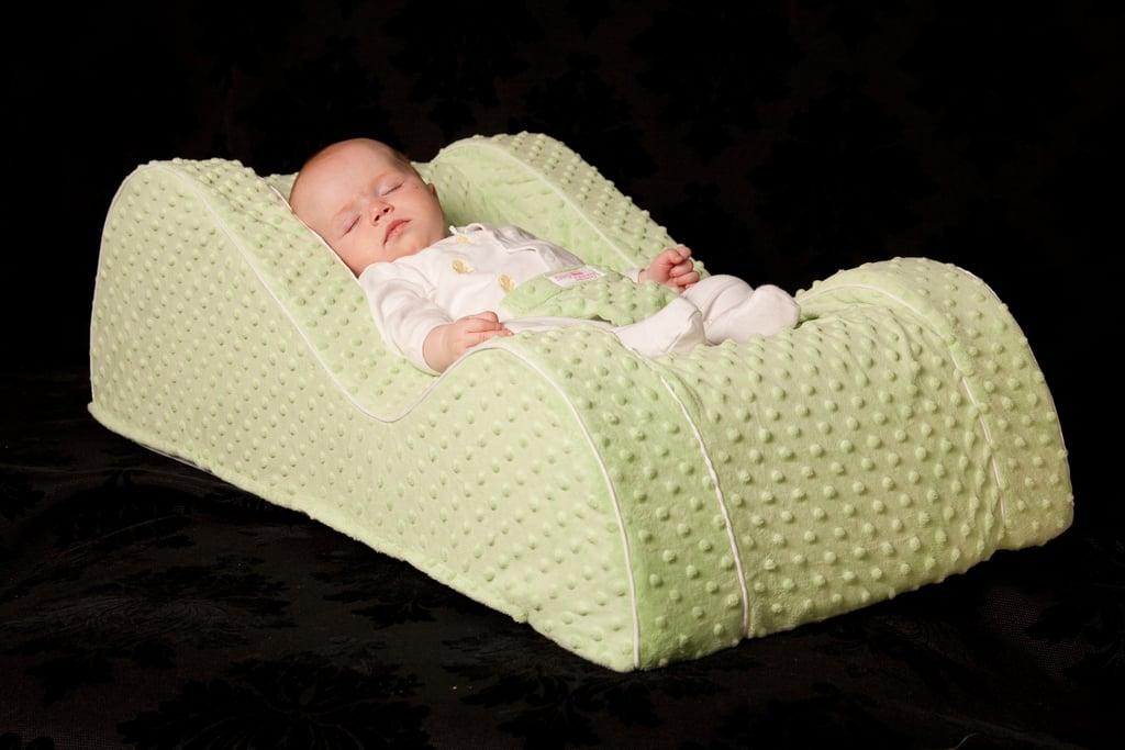 Sandra Bullock's Son Louis Sleeps in Nap Nanny