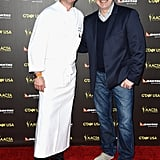 Chefs Neil Perry and Tom Colicchio.