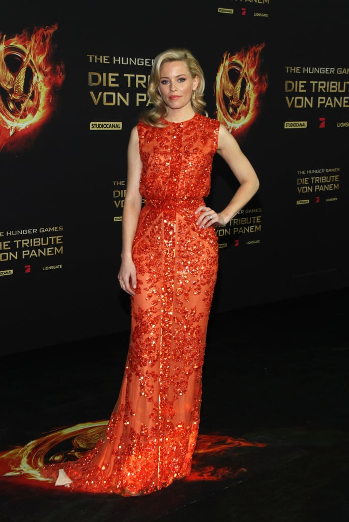 Hunger Games' Jennifer Lawrence and Elizabeth Banks Go With Fiery Shades in Berlin