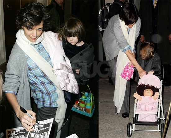 Photos of Katie Holmes and Suri Cruise in NYC