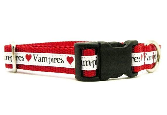 Vampire Dog Collar ($16)