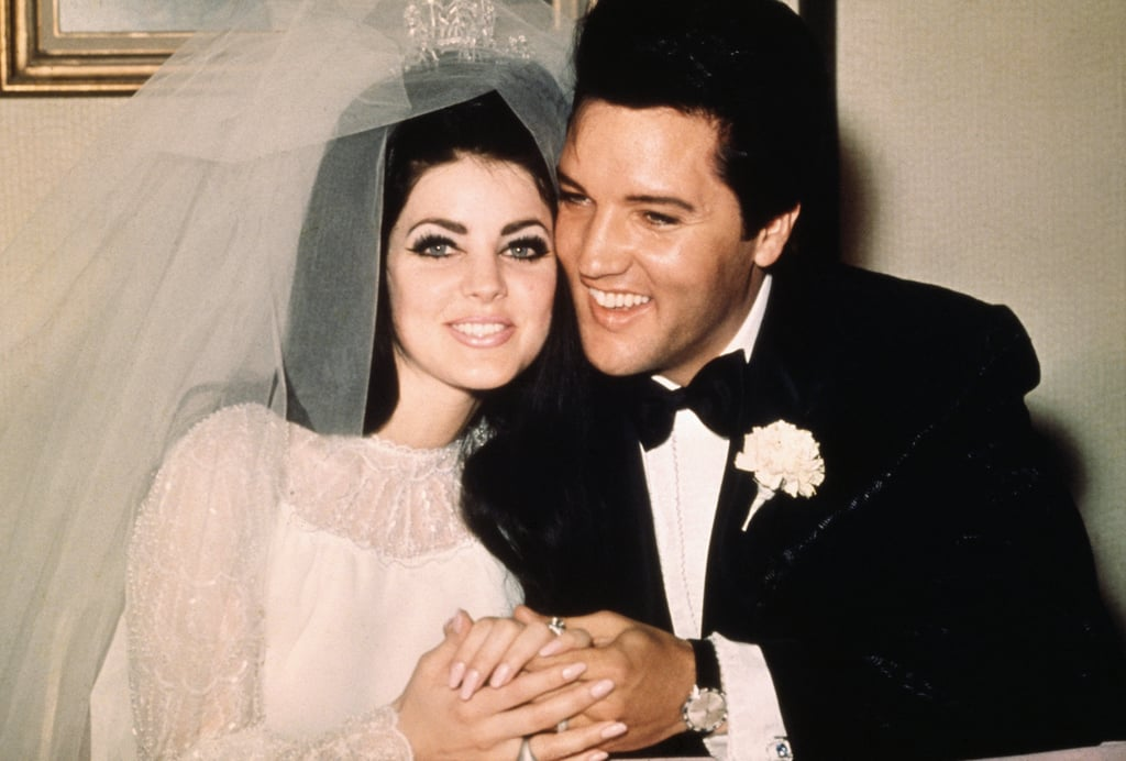 Image result for elvis presley married priscilla