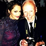 Minka Kelly said she was honored to meet photographer Billy Cunningham at the Met Gala. Source: Instagram user minkak