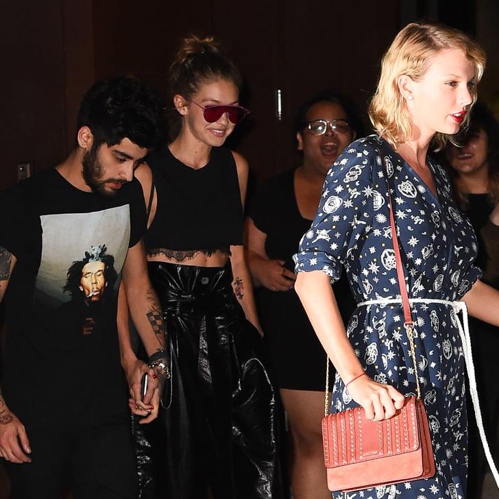 Taylor bersama Zayn dan Gigi