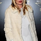 Kate Moss at the Moet & Chandon Etoile Awards for Mario Testino.