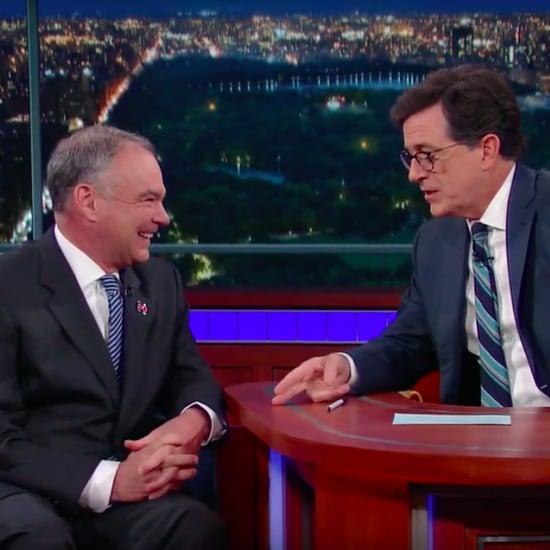 Tim Kaine on Stephen Colbert