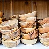 Olive Wood Bowls ($6)