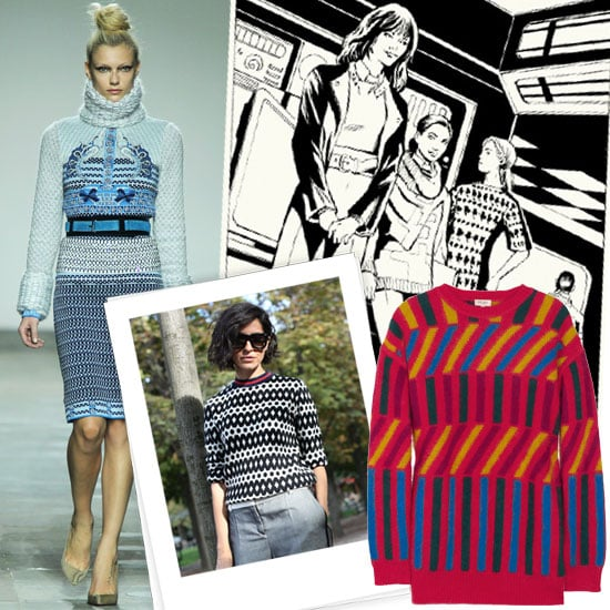 Intarsia Sweaters Shopping | Fall 2012