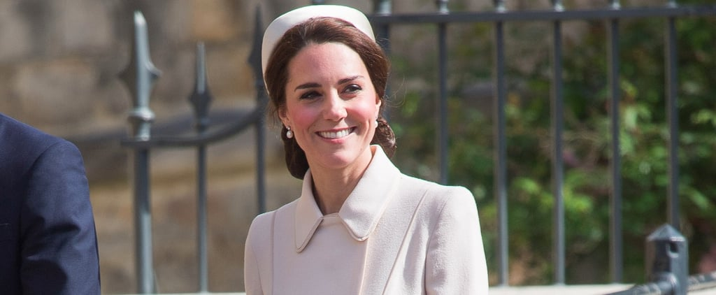 Duchess of Cambridge Catherine Walker Coat on Easter