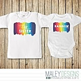 Rainbow Baby Sibling Set