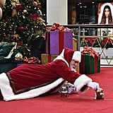 The Santa Who Realized the Floor Is More Comfortable Than a Lap