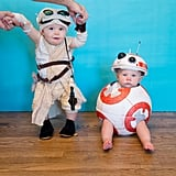 Rey and BB-8 (Star Wars: The Force Awakens)