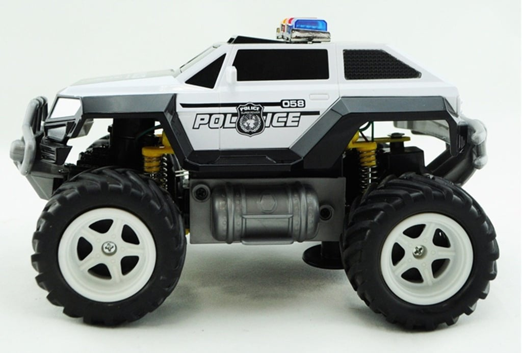 For 4-Year-Olds: Prextex Remote Control Monster Police Truck