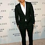 Prabal Gurung looked dapper at Estée Lauder's Modern Muse launch party.