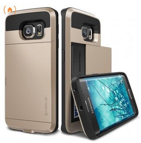 Verus Samsung Galaxy S6 Edge Case Damda Slide in Shine Gold ($35)