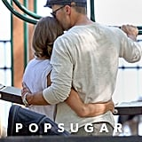 Gisele Bündchen gave her husband, Tom Brady, a tight hug in June at a Boston park.