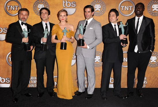 Interview with the Inglorious Basterds cast from the 2010 Screen Actors Guild Awards Press Room