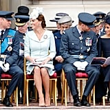 The Royal Family at the Royal Air Force's 100th Anniversary Celebration