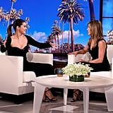 Selena Gomez and Jennifer Aniston Hosting The Ellen DeGeneres Show