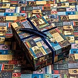 Harry Potter Hogwarts Library Gift Wrap