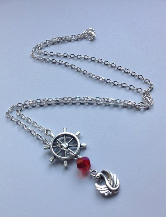 Captain Swan Necklace