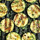 Grilled Lemon-Garlic Courgette