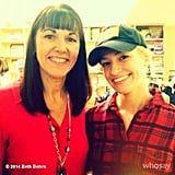 Beth Behrs volunteered at the Downtown Women's Center in LA.