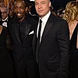 Everyone Wants a Piece of Brad Pitt at the SAG Awards