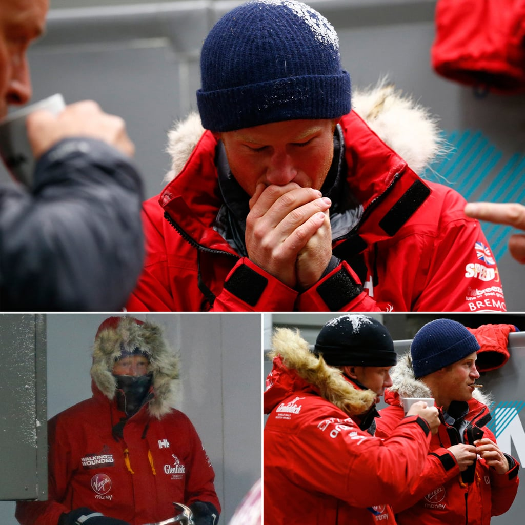 Prince Harry in Cold Chamber Pictures
