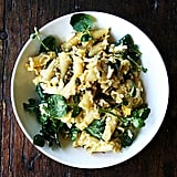Campanelle Pasta With Hard-Boiled Eggs, Capers, and Watercress