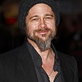 Brad rocked a mountain man look at the UK premiere of Kick-Ass in March 2010.