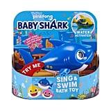 Robo Alive Junior Baby Shark Battery-Powered Sing and Swim Bath Toy — Daddy Shark