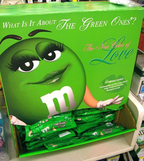 Now You Can Buy Entire Bags of Green M&Ms