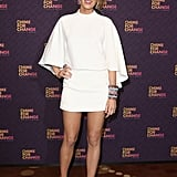 At the Chime For Change concert in London, Blake Lively was fresh in a white minidress, but it was her spiked cap-toe pumps, in pink no less, that really stole the show.