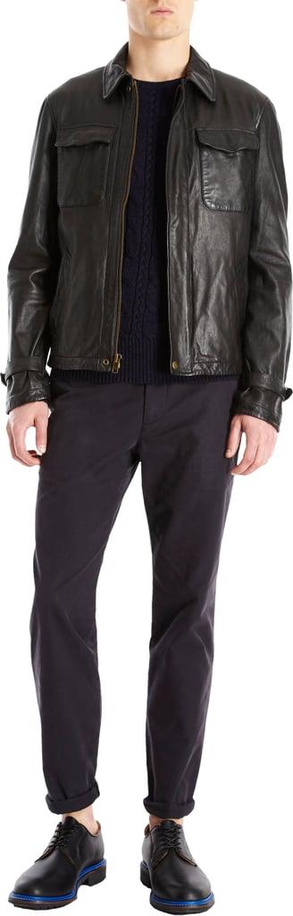 Barneys New York Todd Snyder Leather Club Jacket ($1,295)