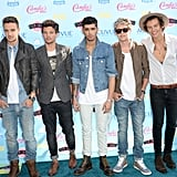 One Direction attended the 2013 Teen Choice Awards.