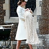 This Detailed Look at Princess Charlotte's Christening Gown