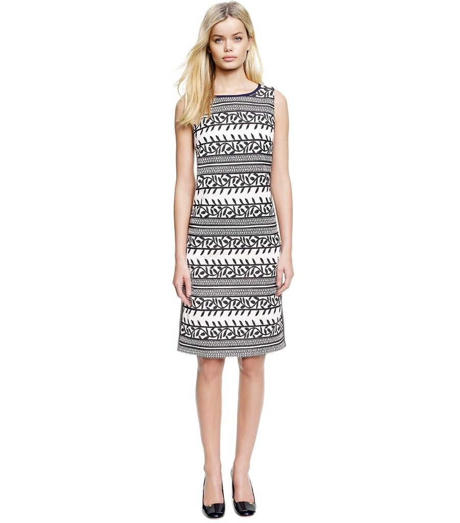 Tory Burch black-and-white printed Laurie dress ($425)
