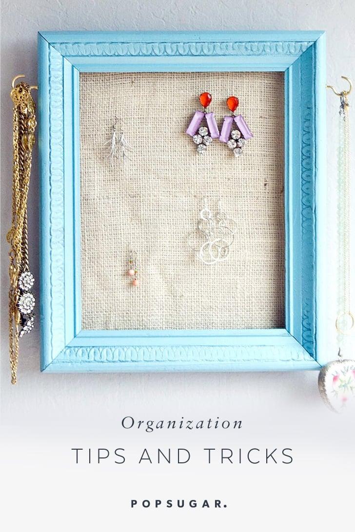Organization Tips and DIYs