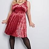 Splendorous Spree Velvet Dress