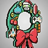 8-Bit LED Wreath