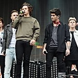 One Direction Performing at the BBC Radio 1 Big Weekend in 2014