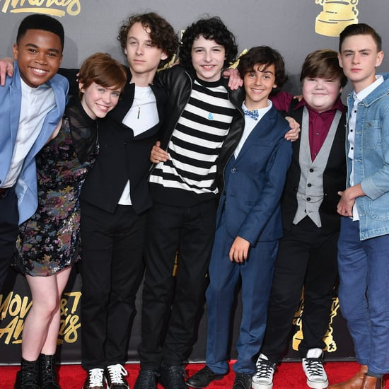 Cast of It at the 2017 MTV Movie and TV Awards