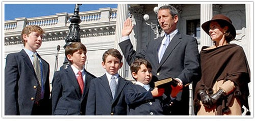 Governor Mark Sanford Did Not Vow to Stay Faithful