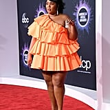 Lizzo at the 2019 AMAs With Her Valentino Minibag