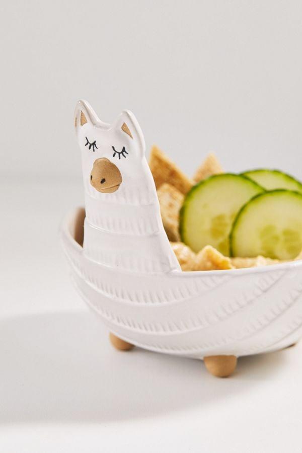 Llama Snack Bowl