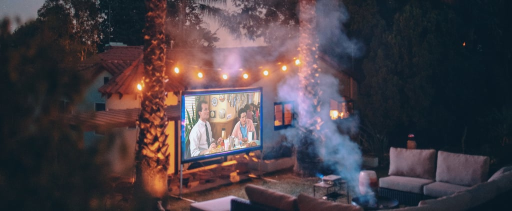 This Portable Projector Lets You Watch TV on Your Ceiling