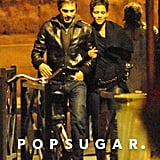 Halle Berry and Olivier Martinez were arm in arm after a romantic dinner in Paris in late September 2010.