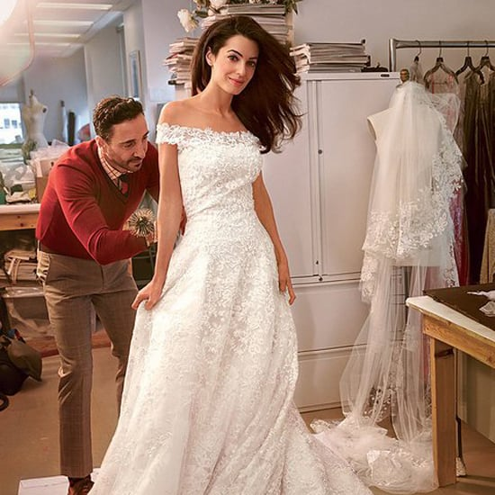 Famous Oscar de la Renta Wedding Dresses | POPSUGAR Fashion