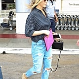 Jennifer Aniston's Airport Shoes Are a Summer Staple She Wears Everywhere